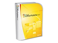 Microsoft Office Publisher 2007 - Pacote completo - 1 PC - CD - Win - Português