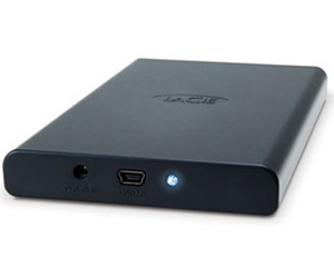"Lacie 250 GB 2.5"" Bus Powered - USB"