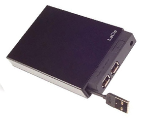 "Lacie 250 GB 2.5"" Bus Powered - FireWire & USB"