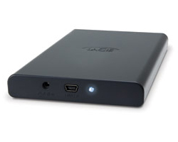 "Lacie 320 GB 2.5"" USB 2.0  Bus Powered"