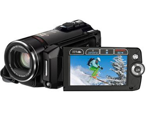 Canon LEGRIA HF 200 - Câmara video High Definition - Silver