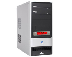 3RSYSTEM R110 LIGHT SILVER MIDTOWER ATX S/fonte