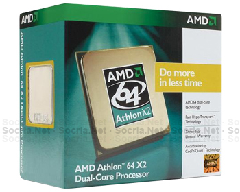 CPU AM2 Athlon® Dual Core 5200+ 2.6GHZ 65W 2x1MB cache