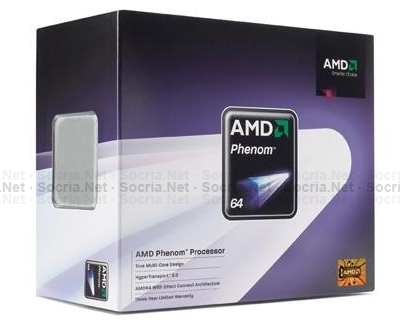 CPU AM2+ AMD PHENOM 9500 2200MHZ 4MB Tray