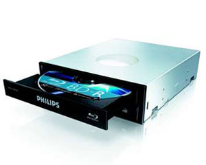 Philips Gravador Blu-Ray Philips TripleWriter Black Retail