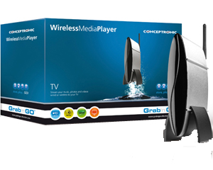 Conceptronic Wireless Media Player, Servidor UPnP, LAN, 802.11g WLAN, USB host