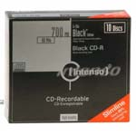 CD-R 80 Black Edition Slim PK10 (CX10)