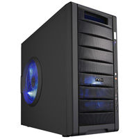 MIDTOWER Nox COOLBAY 25 BLACK S/FONTE