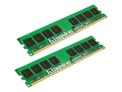 Memória DDR3 4GB 1333Mhz CL9 - Kingston (2 x 2GB)