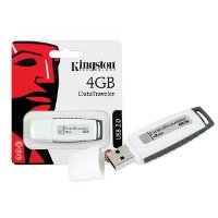 Pen Drive 4Gb DTIG3 Kingston WHITE/GRAY