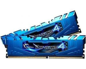 16GB DDR4 3000 2X288 DIMM CL15 1.2V GSKILL RIPJAWS 4 AZUL