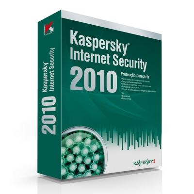 Kaspersky Internet Security 2010 1 User 1 Ano BOX