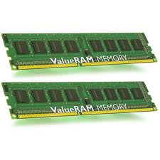 Memória DDR3 2GB 1066Mhz CL7 (2 x 1GB) - Kingston