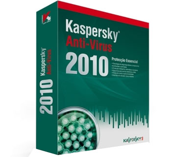 Kaspersky Anti-Virus 2010 - 3 User 1 Ano BOX