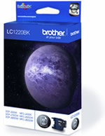Tinteiro Brother LC1220BK (Preto)