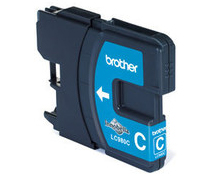 Tinteiro Brother LC980C (Cian)