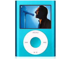 iPod nano 8GB - Blue 4th G