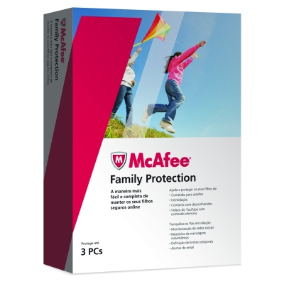 McAfee Family Protection 2010 3 Users PT