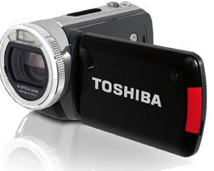 Toshiba Camileo H20 - Câmara video - LCD TFT 3.5 MP HDMI