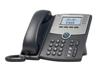 Cisco Small Business Pro SPA 504G - Telefone VoIP - 4 linhas