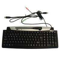 AOPEN KEYBOARD KB-972V C\ WEBCAM USB BLACK