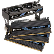 Memória DDR3 3GB 1866MHz DDR3 CL9 (9-9-9-24) - Corsair (Kit de 3) DOMINATOR