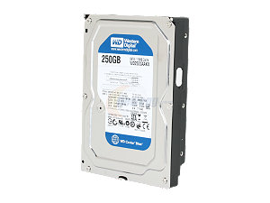 Disco Western Digital 250GB CAVIAR Blue 16mb 6 Gb/s  IDE 3,5