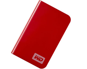 "Western Digital HDD 250GB 2,5"" Vermelho PASSPORT Essential"