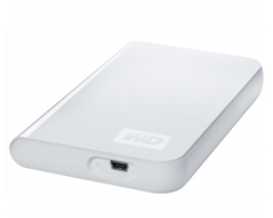 "Western Digital HDD 250GB 2,5"" Branco PASSPORT Essential"