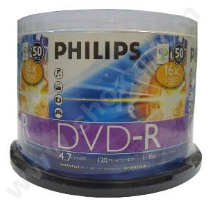 DVD-R 16xSpeed 4.7Gb Pack 50